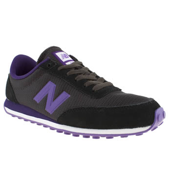New Balance Black & Purple 410 Trainers