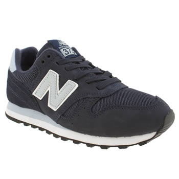womens new balance navy 373 trainers