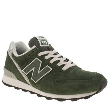 New Balance Dark Green 996 Trainers