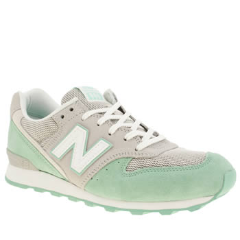 New Balance Light Green 996 Trainers