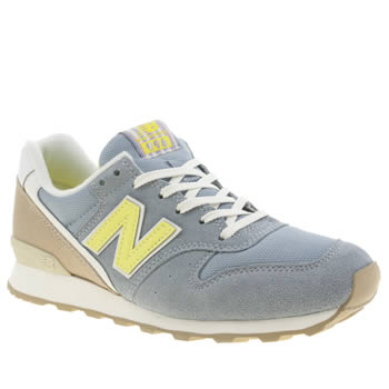 New Balance Blue & Yellow 996 Trainers