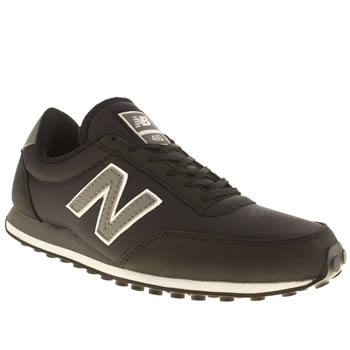 New Balance Black & White 410 Mesh Womens Trainers