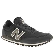 New Balance Navy & Grey 410 Mesh Trainers