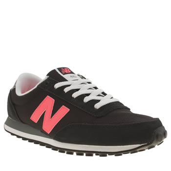 New Balance Black & pink 410 Trainers