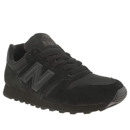 New Balance All Black Trainers