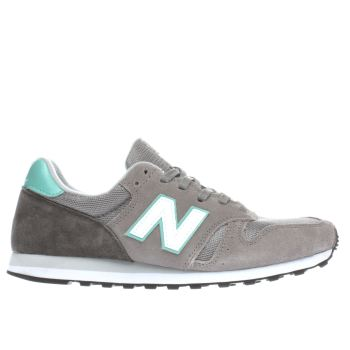 Womens New Balance Light Grey 373 Trainers