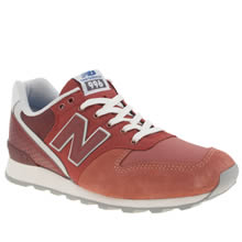 New Balance Red 996 Womens Trainers