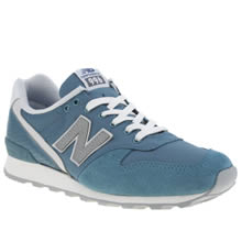 New Balance Blue 996 Womens Trainers