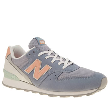 New Balance Pale Blue 996 Trainers