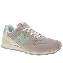 New Balance Light Grey 996 Trainers