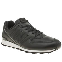 New Balance Black & White 996 Womens Trainers