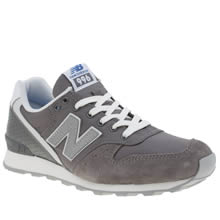 New Balance Grey 996 Womens Trainers