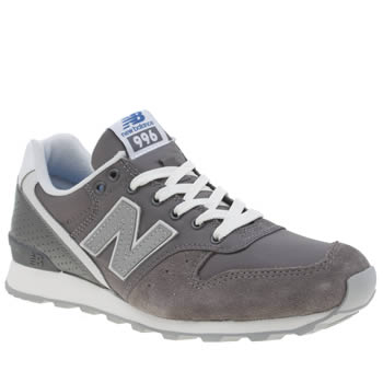 Womens New Balance Grey 996 Trainers