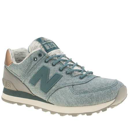 new balance 574 denim 1