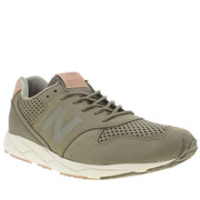 New Balance Khaki 96 Womens Trainers