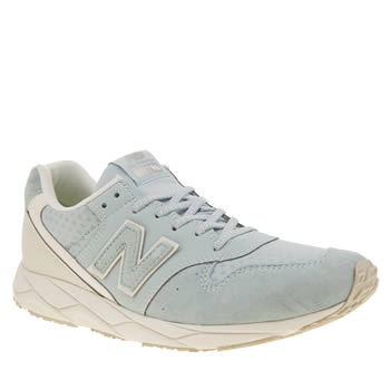 New Balance Pale Blue 96 Womens Trainers
