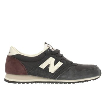 New Balance Navy & White 420 Trainers