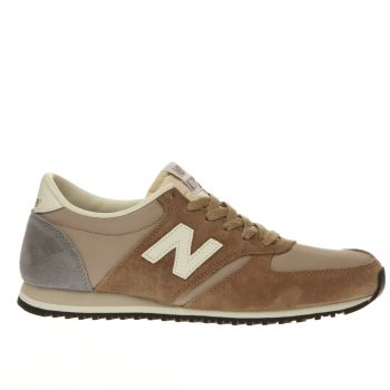 New Balance Tan 420 Womens Trainers