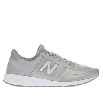 New Balance Light Grey 420 V1 Trainers