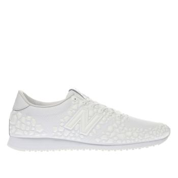 New Balance White 420 V1 Gemstones Trainers