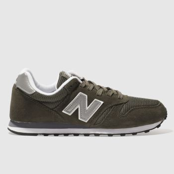 New Balance Khaki 373 V1 Trainers