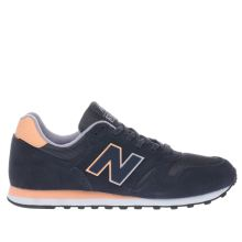 New Balance Navy & Pink 373 V1 Trainers
