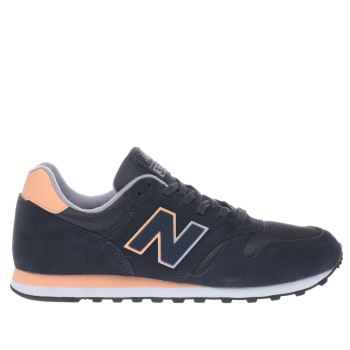 New Balance Navy & Pink 373 V1 Womens Trainers