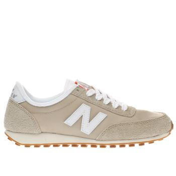 New Balance Beige 410 V1 Suede Womens Trainers