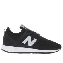 New Balance Black & White 247 Womens Trainers