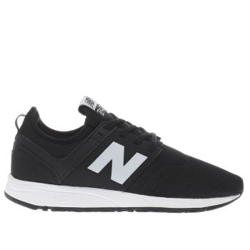 New Balance Black & White 247 Trainers