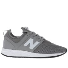 New Balance Grey 247 Womens Trainers