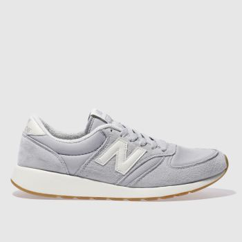 New Balance Grey 420 Rev-Lite Womens Trainers