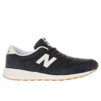 New Balance Navy 420 Rev-lite Trainers