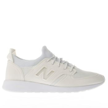 New Balance White 420 Revlite Slip-On Womens Trainers