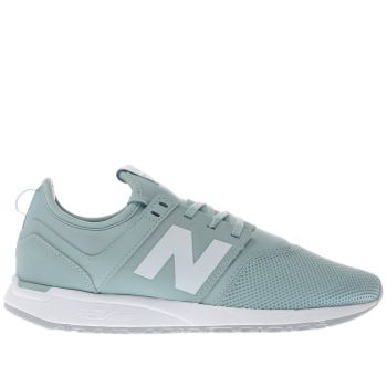 New Balance Teal 247 Classic Trainers