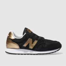New Balance Black & Bronze 520 S Womens Trainers