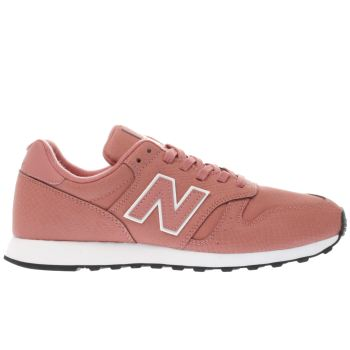 New Balance Orange 373 V1 Snake Womens Trainers