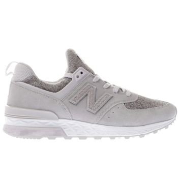 New Balance Lilac 574 Sport Womens Trainers