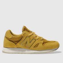 New Balance Yellow 520 Suede Womens Trainers