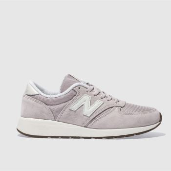 New Balance Pink 420 Rev Lite Suede Womens Trainers