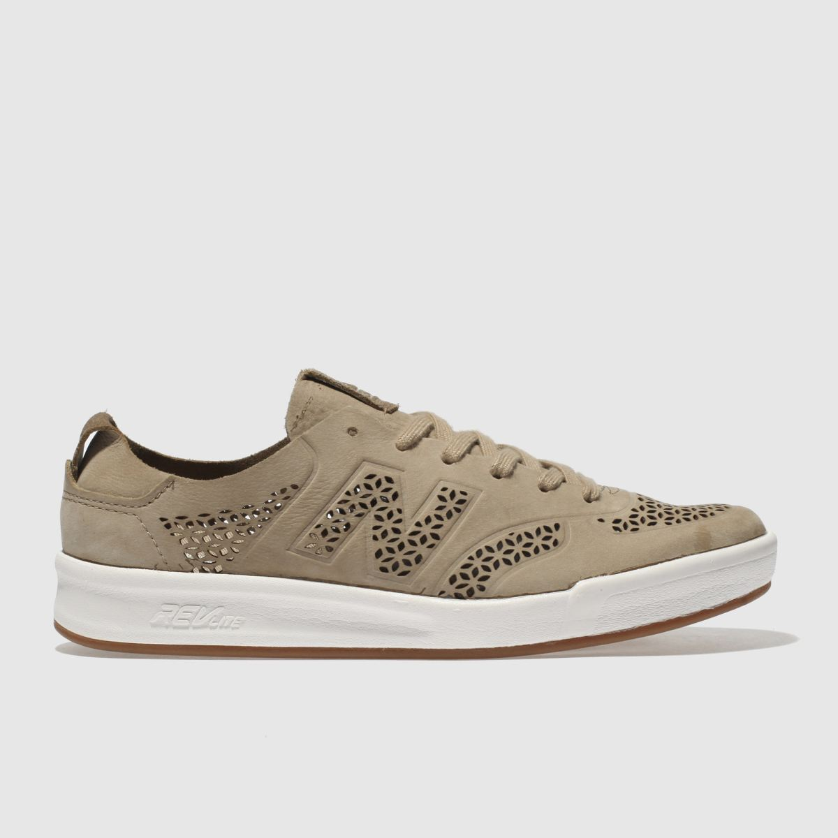 New Balance Beige 300 Dv1 Cutout Trainers
