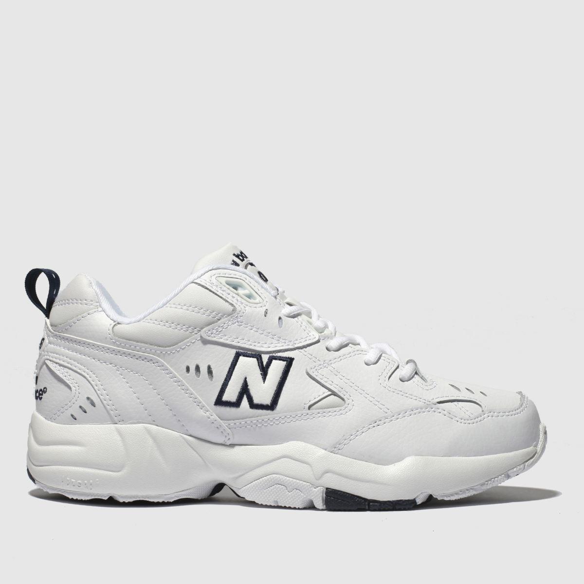 New Balance New Balance White & Navy 608 V3 Trainers