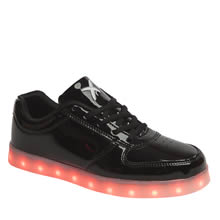 Wize & Ope Black Pop Led Womens Trainers