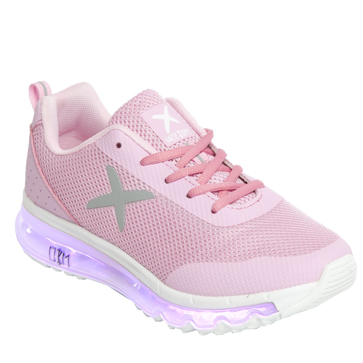 wize & ope Wize & Ope Pink Xrun Trainers