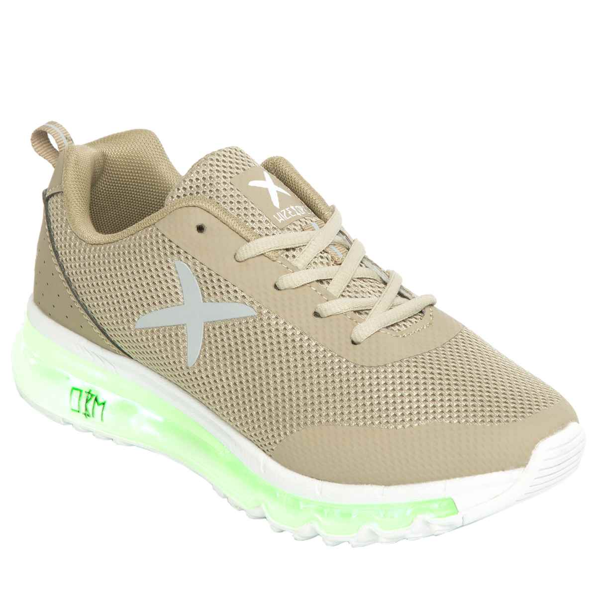 wize & ope Wize & Ope Beige Xrun Trainers