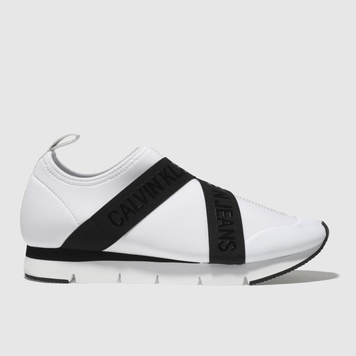 Calvin Klein White & Black J Tonia Trainers