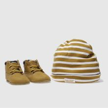 Crib Natural Timberland Bootie