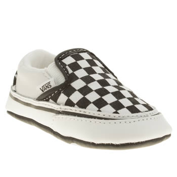 Vans Black & White Classic Slip-on Unisex Crib