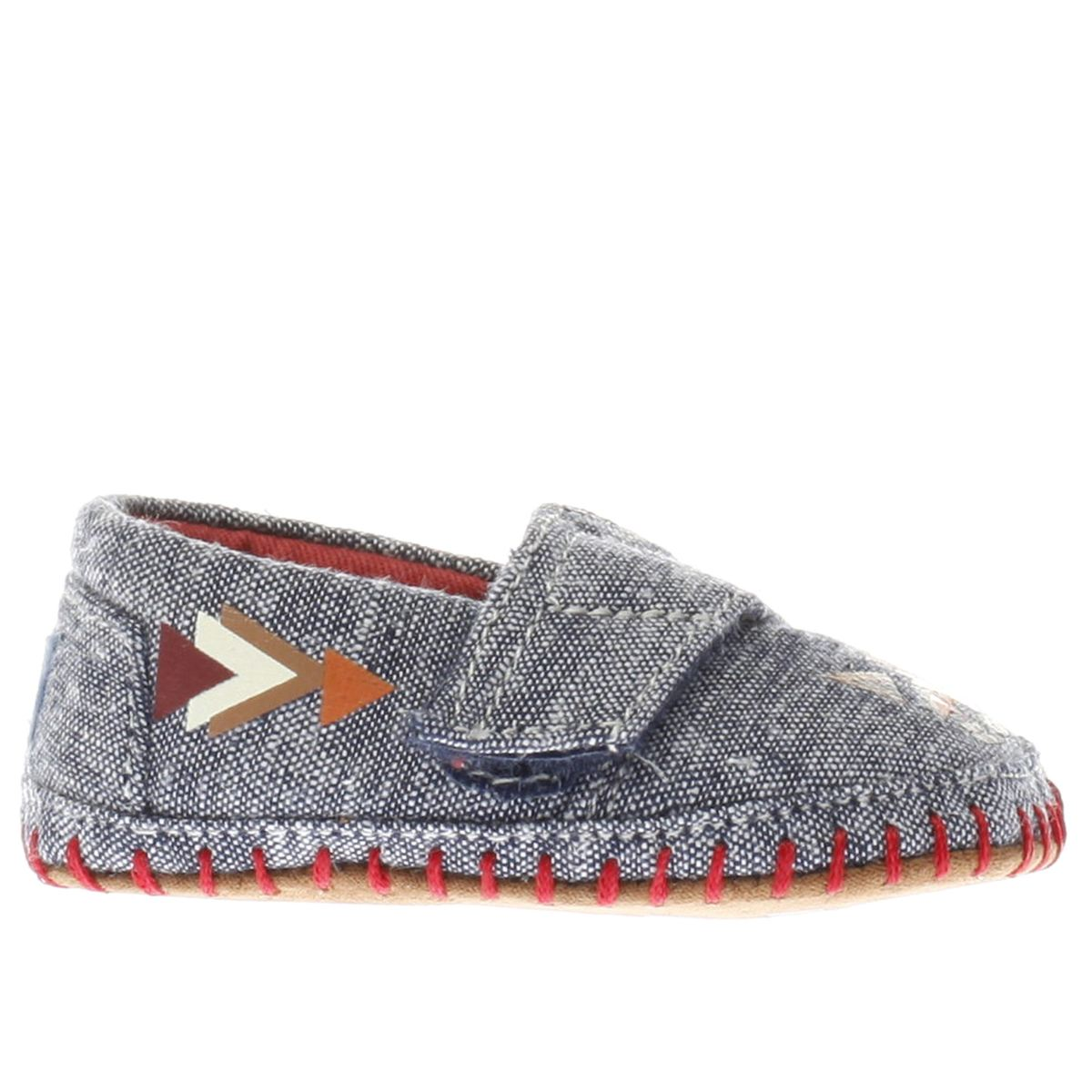 toms navy alpargata crib Baby Shoes