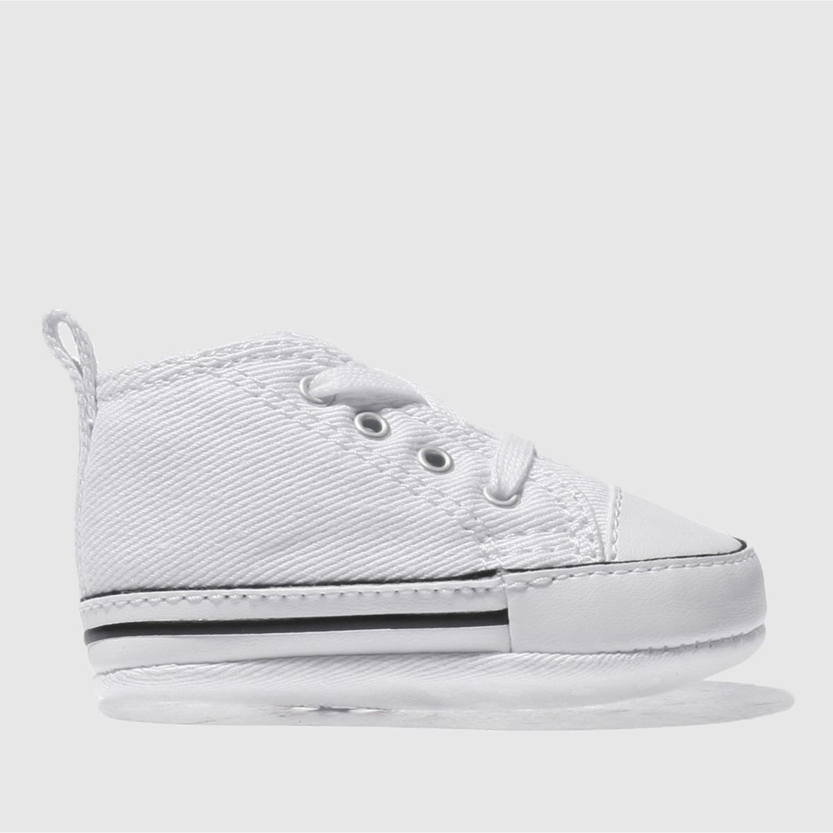 converse white 1st star ii crib Boys Baby Trainers
